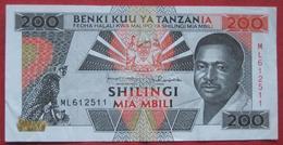 200 / Mia Mbili Shilingi ND (WPM 25b) - Tanzania