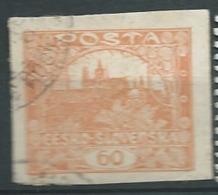Tchécoslovaquie  -  - Yvert N° 17  Oblitéré    --  Bce 15336 - Oblitérés