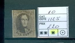 10 X   COB 2019   1125€ - 1858-1862 Medallions (9/12)