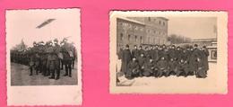 Moncalieri Torino Caserma Truppe Fanteria 1937 Old Photos Italian Soldiers Uniformes - Guerra, Militari