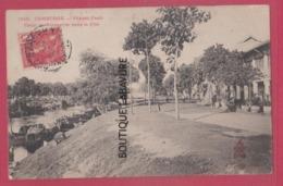 CAMBODGE---Canal De Verneville Dans La Cité - Cambodia