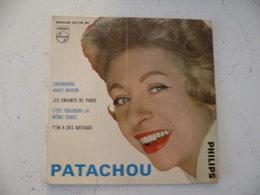 Pochette Vinyle Vide Patachou Des Années 50 ( Sans Vinyle ) - Vinyl Records