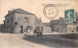 37 - INDRE ET LOIRE / 371121 - Saint Etienne De Chigny - Café  De La Queue Au Merluche - Other Municipalities
