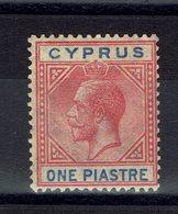 CHYPRE - 1921-23 - N° 71 - Neuf X - Trace De Charnière - Fil CA Multiple - B/TB - Cote 20 € - Cyprus (...-1960)