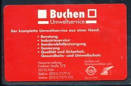 GERMANY Telefonkarte O  1151 97 Buchen Umweltservice - Auflage 5000 - Siehe Scan - 15468 - Deutschland