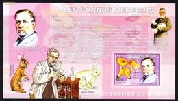 LOUIS PASTEUR - Les Grands Medecins, Congo 2006 / Imperforated - MNH - Louis Pasteur