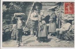 La Bretagne Pittoresque - Kernascléden Chapelle Aux Mille Clochetons (56 Morbihan) Un Four à Pains - édit Waron N° 6015 - France