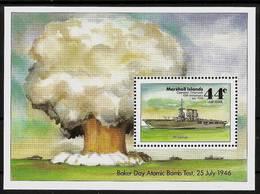 MARSHALL ISLANDS 1986 - OPERATION CROSSROADS / ATOMIC BOMB TEST Bikini - Bloc 2 Mi Mi 86 MNH ** Cv€7,00 V323b - Marshall Islands