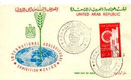 EGYPTE. N°494 De 1961 Sur Enveloppe 1er Jour. Exposition Internationale De L'agriculture. - Agriculture
