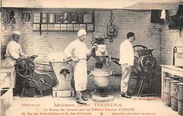 Amiens    80         Maison Tognina Fabrique De Macarons       (voir Scan) - Amiens