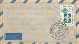 LSJP BRASIL COVER JAMBOREE ESCOTISM 1965 - Brazil