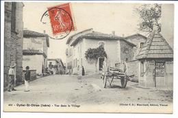OYTIER St OBLAS- Vue Dans Le Village 1910 - Autres Communes