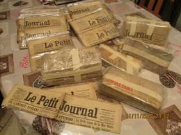 Gros Lot Vieux Papiers + De 140 Journaux Quotidiens Le Petit Journal , Militaria Guerre 1914-18 Et 39-45 Rare - Newspapers