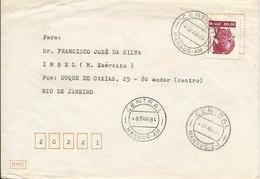 LSJP BRASIL COVER ECONOMIC RESOURCES CHESTNUT 1984 - Brazil