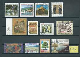 Croatia/Hrvatska/Bosna Hercegvina Used/gebruikt/oblitere(D-03) - Collections (without Album)