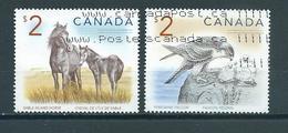 Canada $2.00 Animals,dieren,tiere Used/gebruikt/oblitere - 1952-.... Regering Van Elizabeth II