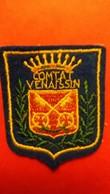 ECUSSON TISSU COMTAT VENAISSIN VAUCLUSE BLASON ARMOIRIES VOIR AUTRES MODELES DANS MA BOUTIQUE ET CELLE ULTIMA31 - Ecussons Tissu