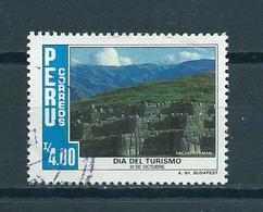 Peru Dia Del Turismo Used/gebruikt/oblitere - Peru