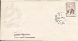 LSJP BRASIL 150 YEARS OF DOM PEDRO II 1975 - Brazil