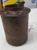 Pot De Grenade à Manche Fumigène Nebelhandgranate 39 Allemand Ww2 (neutralisé)(7) - Decorative Weapons