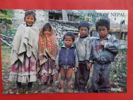 Népal   Visages   Enfants De Village - Népal