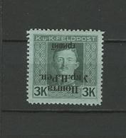 West Ukraine, 1919, Inverted Overprint, MLH* - Ukraine