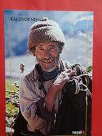 Népal   Visages  La Vieillesse N Est Pas Un Critére - Népal