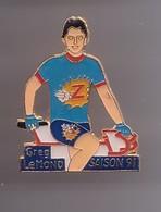 Pin's Gerg Lemond Saison 91 Vélo Réf 624 - Cycling