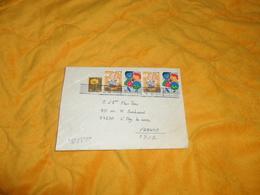 ENVELOPPE UNIQUEMENT DE 1994. / JAPON. NAKAYAMA. POUR L'HAY LES ROSES FRANCE. / CACHET + TIMBRES X5.. - Covers & Documents