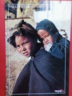 Népal Visages   Amour Maternel - Népal
