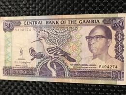 Gambia 50 Dalasis 1991 - Gambie