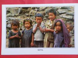 Népal Visages    Petits Enfants Du Népal - Népal