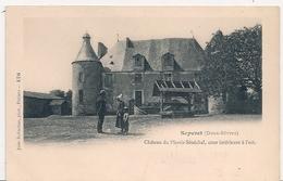 Cpsm 79 Chateau Du Plessis Sénéchal La Cour - France