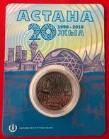 "Kazakhstan 100 Tenge 2018 ""20 Years Of Astana"" CoinCard UNC - Kazakhstan"