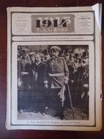 1914 Illustré N° 41 Tzar Ferdinand Bulgarie - Lodz - Sofia - église Sainte-Gudule Bruxelles Au 17è S. - Livres, BD, Revues