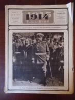 1914 Illustré N° 41 Tzar Ferdinand Bulgarie - Lodz - Sofia - église Sainte-Gudule Bruxelles Au 17è S. - Libri, Riviste, Fumetti