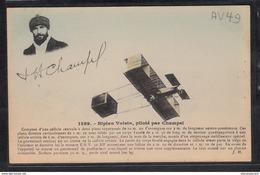 1497 AV049 AK PC CPA BIBLAN VOISIN PILOTE PAR CHAMPEL NON CIRCULER TTB - ....-1914: Precursori