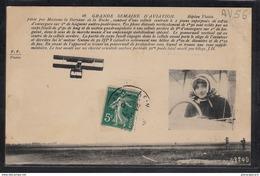 1502 AV56 AK PC CPA BIPLAN VOISIN PILOTE PAR MADAME LA BARONNE DE LA ROCHE C TTB - ....-1914: Precursori