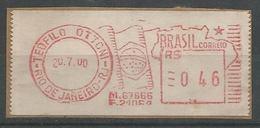 LSJP BRASIL STREAMER Teófilo Otoni 2000 Flag - Brazil