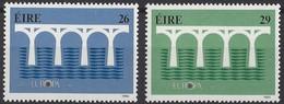 Cept 1984 Irlande Ireland Ierland Yvertn° 541-542 *** MNH Cote 12,00 Euro - 1949-... Republic Of Ireland