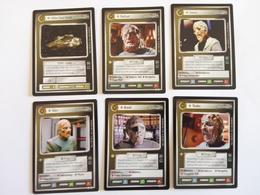 Star Trek CCG - 6 Cards Vidiian/Vidiianer (1x Ship/5x Personnel) - Star Trek