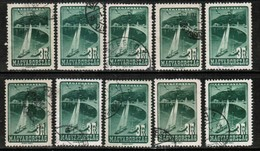 HUNGARY   Scott # C 51 USED WHOLESALE LOT OF 10 (WH-265) - Stamps