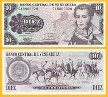 Venezuela 10 Bolivares P-60 1981 UNC - Venezuela