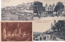 600 CARTES VARIEES  Vue Architecture Fantaisies Militaire Animation Etrangeres En Vrac - Cartes Postales