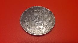 LEOPOLD II. 5 Frs Argent 1969 - 09. 5 Francs