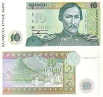 KAZAKHSTAN 10 Tenge 1993 P 10 UNC - Kazakhstan