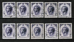 MONACO  Scott # 463 USED WHOLESALE LOT OF 10 (WH-267) - Stamps
