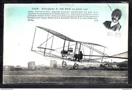 1505 AV59 AK PC CPA AEROPLANE F DE RUE EN PLEIN VOL NC TTB - ....-1914: Precursori