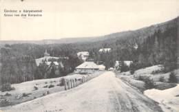 Gruss Von Den Karpaten Feldpost - War 1914-18