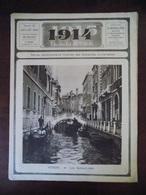 1914 Illustré N° 42 Venise - Libau - Memel - Bruxelles - Aumonier Tranchée... - Livres, BD, Revues